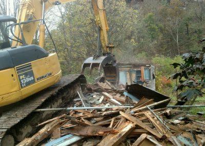 Rt. 220 Hughesville - During Demolition